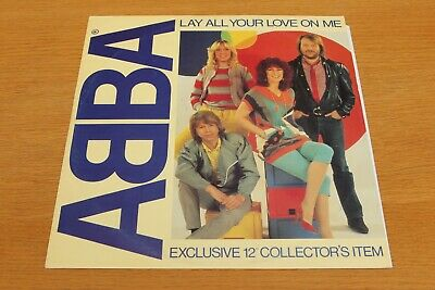 """Abba - Lay All Your Love On Me - 12"""" Vinyl Single - Epic Records EPC A 13 1456"""