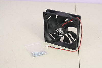 24v Fan 120mm X 120mm X 25mm Evaporator Condenser Refrigeration With M4 Screws