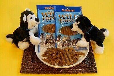 Alaskan Wild Things Pet Treats (Salmon Treats) --- FREE SHIPPING --- 4 Each Alaskan Salmon Treats