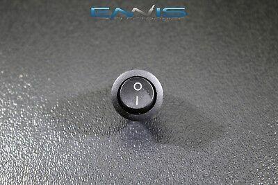 Round On Off Rocker Switch Mini Toggle 12v 20 Amp 34 Mount Hole Ec-1213