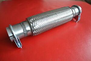 Flexrohr*Flexstück*Montage ohne Schweißen+Schelle MITSUBISHI GALANT 2,5 V6 160PS