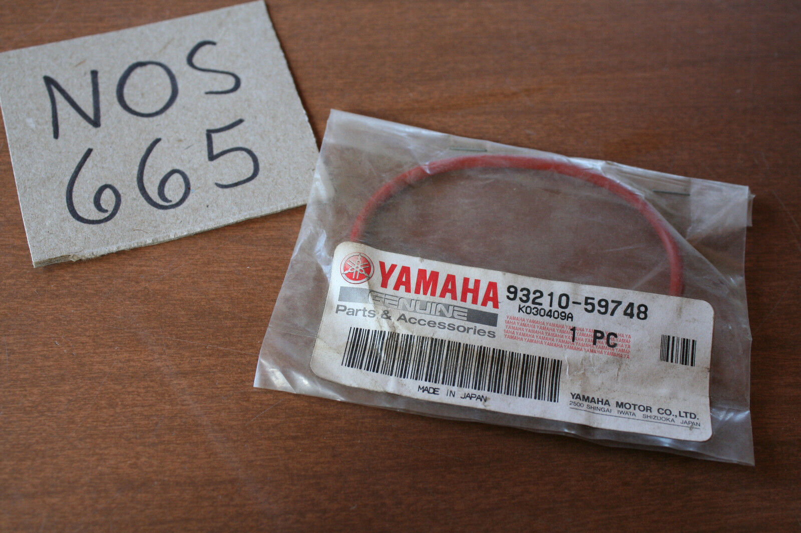NOS Yamaha Transmission O Ring Seal 93210-59748 88-98 YFM350 Big Bear YFM400   C