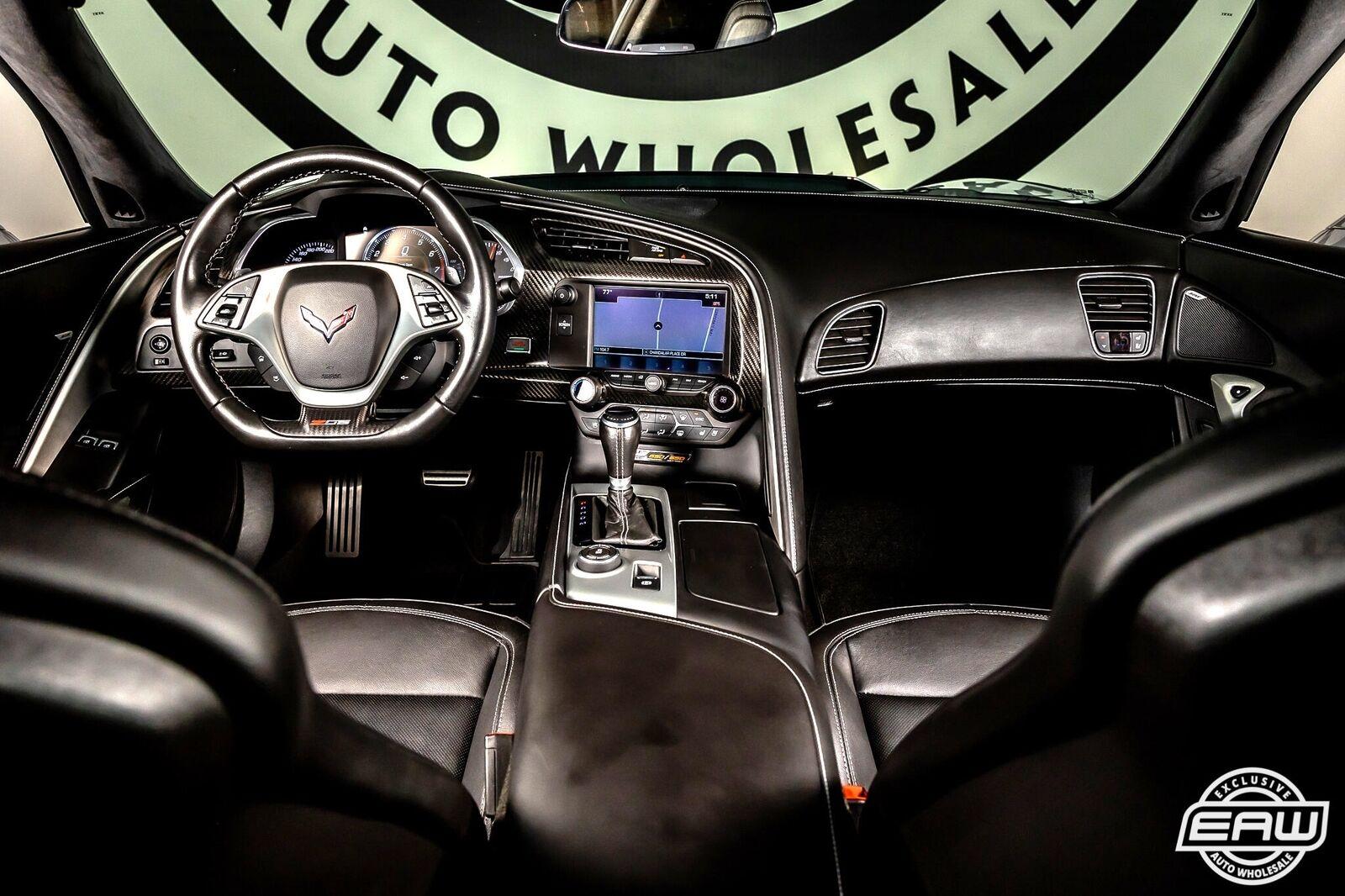 2016 Silver Chevrolet Corvette Z06 3LZ | C7 Corvette Photo 2