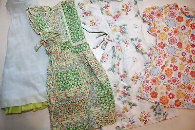 Mädchen Kleider-Set (4 St.) Gr. ab 74 bis 98 (1 bis 3 Jahre)schön süß modern gut