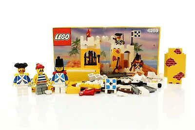 Lego Pirates I Imperial Soldiers Set 6259 Broadside's Brig 100% complete 1991