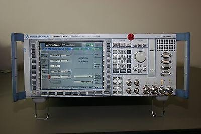 Rohde Schwarz Cmu200 With Gsm C2k Wcdma Audio Loaded Calibrated Warranty