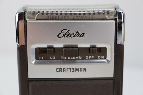 Vintage Electra Sears Craftsman Razor Tested