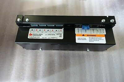 Federal Signal Strobe Power Supply Sps4-nfpa