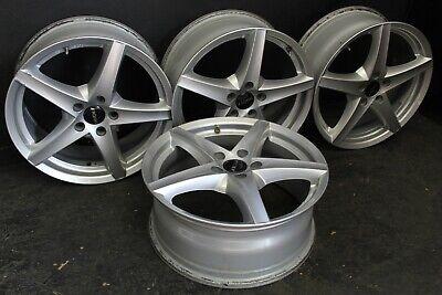 4 Alufelgen Ronal R41 in silber 7.5x18 ET 45 LK 5x112 Audi BMW Infiniti Mercedes