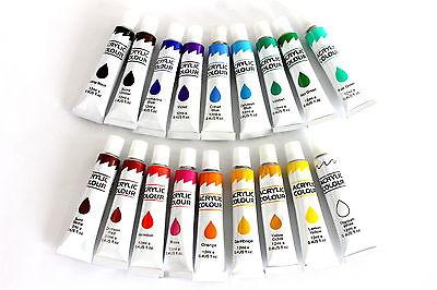 (22,17€/L) Ölfarbe im Set 18 x 12 ml Künstlerfarbe Öl Tuben 12ml Malen Malset