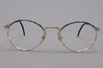 Vintage Brille spring temples sz 48/16 Eyeglasses Frame Without (Eyeglasses Without Temples)