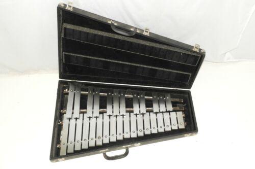 Musser M645 Bells Glockenspiel 2.5 Octaves Steel Bars in Case G-C