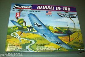 LINDBERG  HEINKEL He 100  1:72 scale  kit