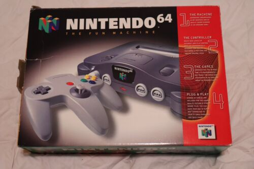 Nintendo 64 Video Game Console