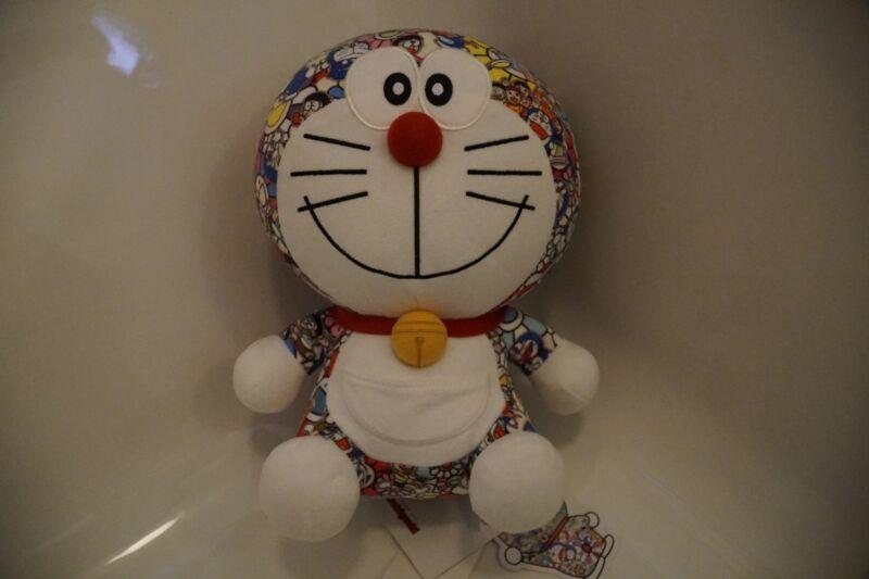 UNIQLO x Takashi Murakami DORAEMON Plush Stuffed Toy RARE Limited EDITION LEGIT