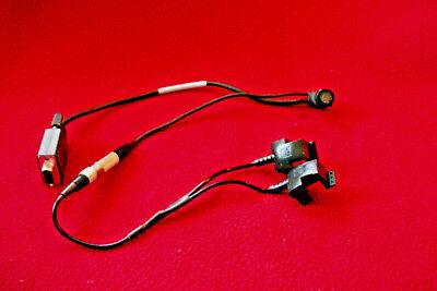 New Trimble Gps Dgps Pro Xrxrs Data Cable Plus Dual Battery Clip Pn 30231-00