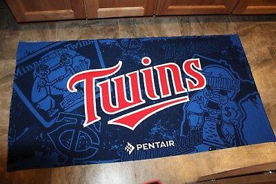Minnesota Twins Fleece - Minnesota Twins Comfy Throw Fleece Blanket SGA Pentair 58