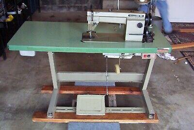 Mitsubishi Ls2-150 Single Needle Industrial Sewing Machine 110 Volt Used
