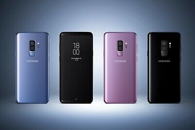 Samsung Galaxy S9 SM-G960U1- 64GB Purple Unlocked B  Burn Image