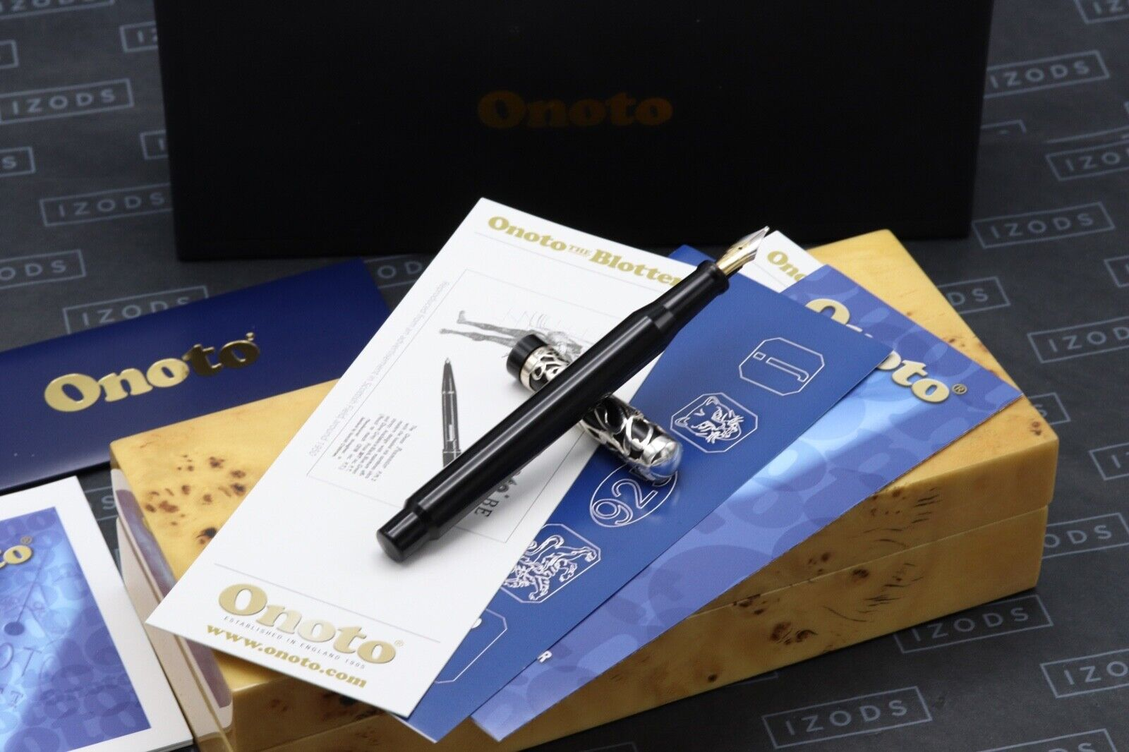 Onoto Heritage Simpole Plunger Filler Limited Edition Fountain Pen - STUB