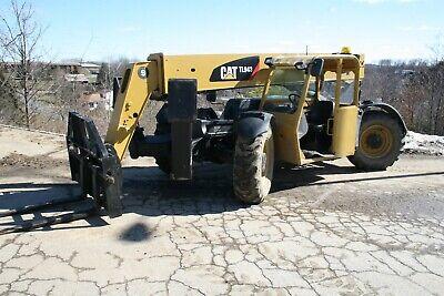 2008 Cat Tl943 Telehandler Forklift W Outriggers 5840 Hrs 9000lb Cap