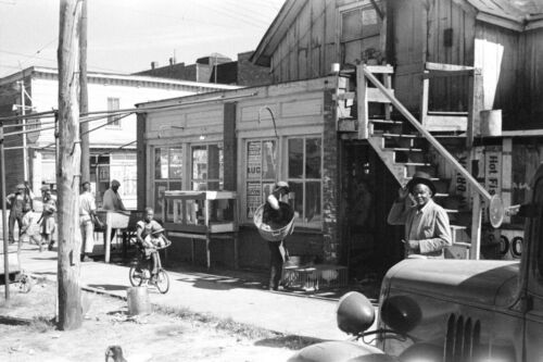 AFRICAN AMERICAN LIFE in Black section Newport News, Virginia-1936 BLACK HISTORY