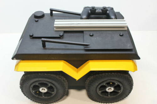Clearpath Robotics Jackal UGV Unmanned Ground Vehicle 4 Wheel Driven Robot