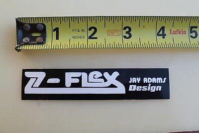 Z-FLEX Skateboards Jay Adams Design Dogtown Z-Boys Rare Skateboarding STICKER for sale  Shipping to Canada