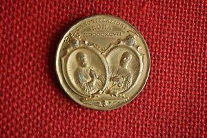 Vaticano medaglia Leone XIII canonizzazione S. Pietro Fourier S. A. Zaccaria - Italia - Vaticano medaglia Leone XIII canonizzazione S. Pietro Fourier S. A. Zaccaria - Italia