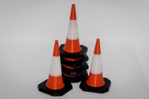 Traffic Cone Scale Models 1/8 1/10 1/12 1/14 1/16 1/18 1/24 1/25 1/32