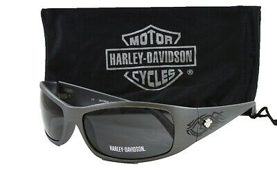 Harley Davidson men's sunglasses HDX812 GRY3 Grey w/ Grey Lens Size 60mm
