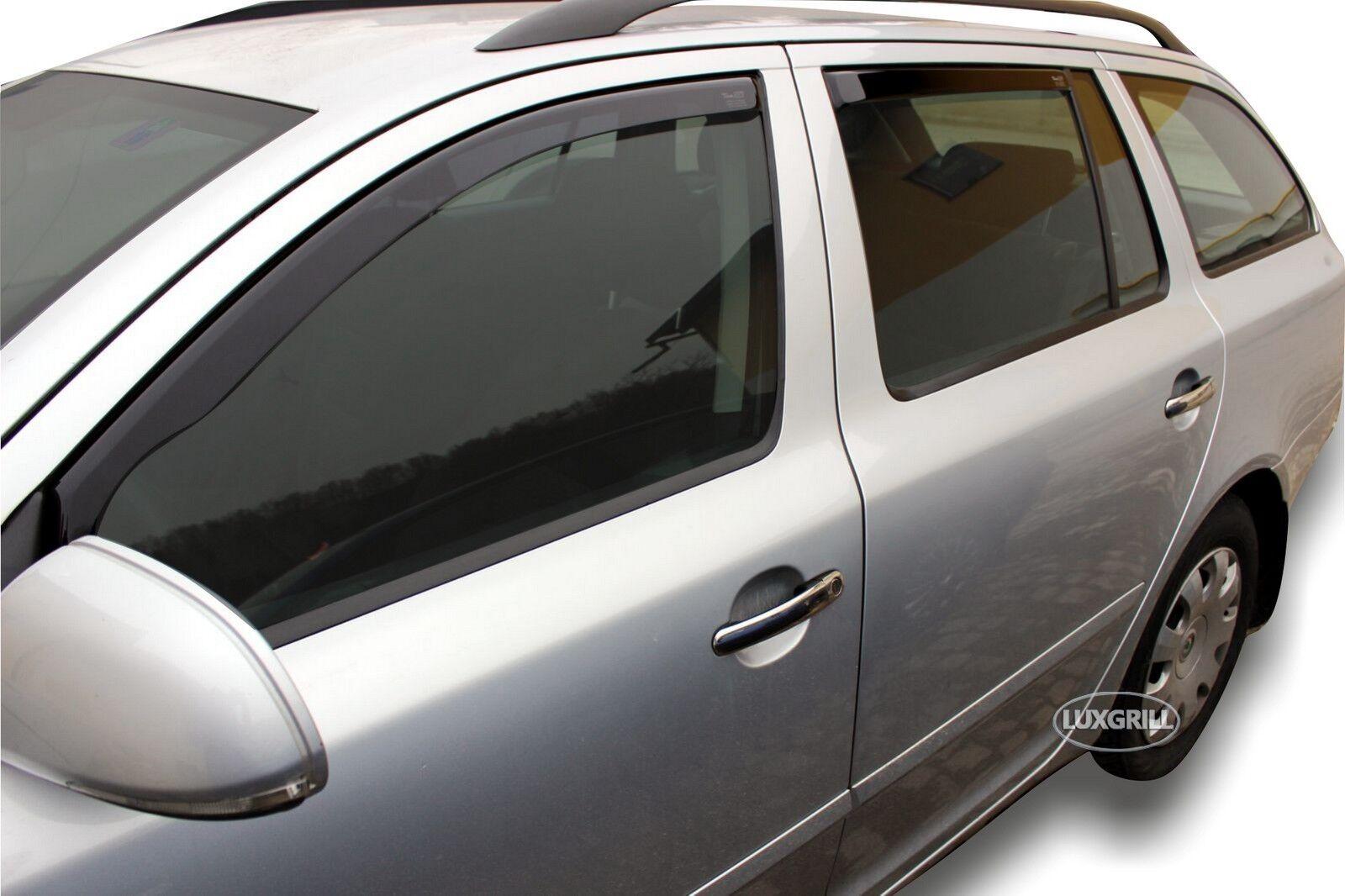 Satz Car Shades kompatibel mit Skoda SuperB 5 t/ürer 2008-2015