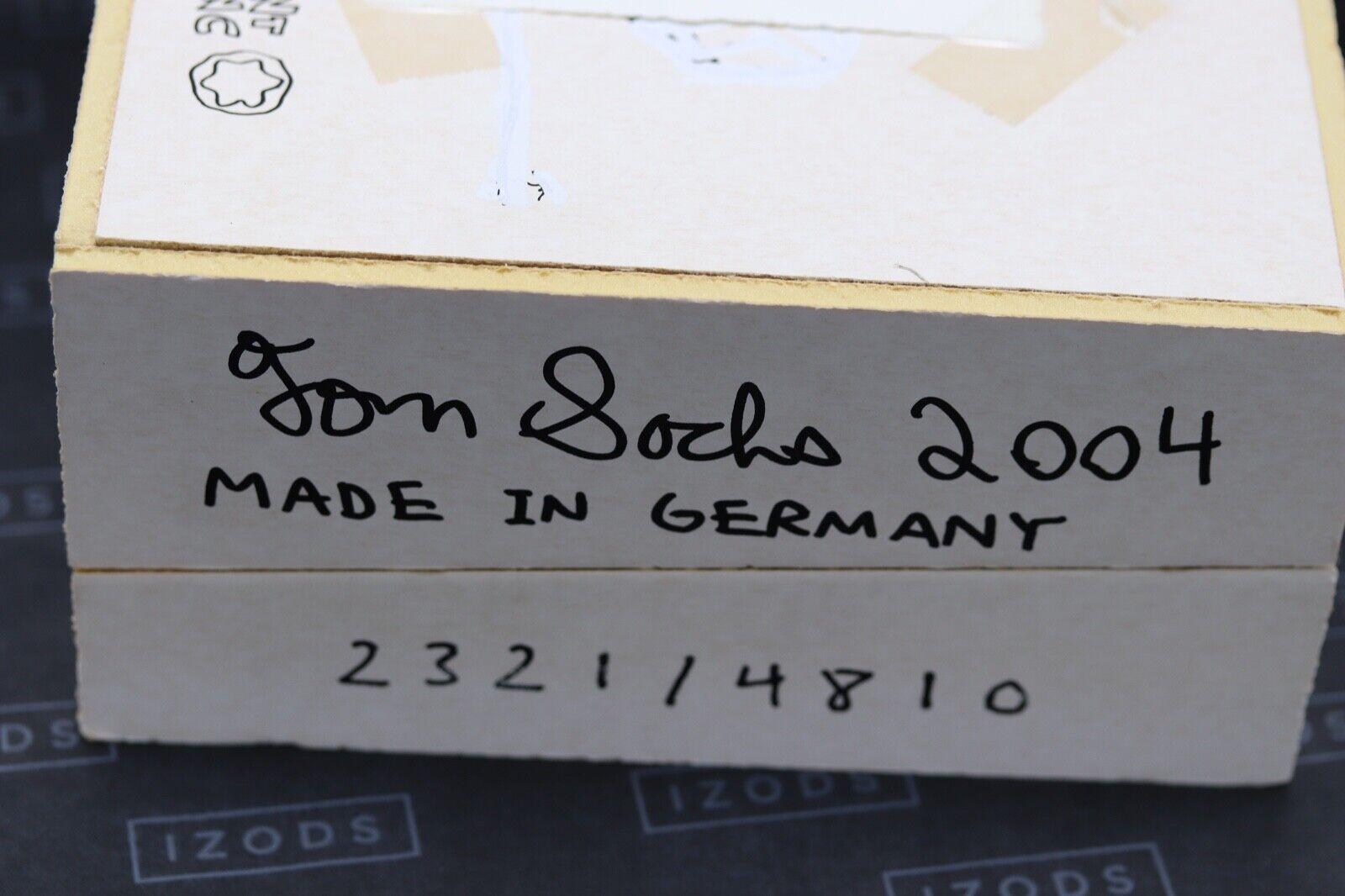 Montblanc Meisterstuck 149 Tom Sachs UNICEF Fountain Pen Set - UNUSED 7