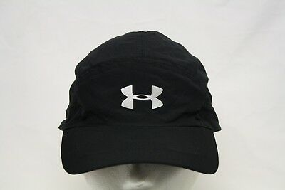 Under Armour Women's UA Free Fit Black Mesh Cap 1294038 Hat Hook & Loop Strap