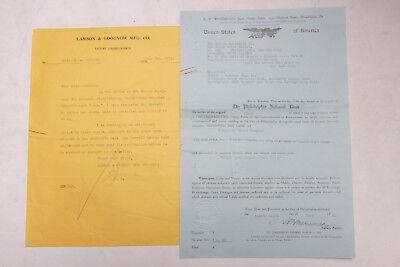 Used, 1931 Lamson Goodnow The Bakery Equipment Co Philadelphia Letter Ephemera P367F for sale  Shipping to Nigeria