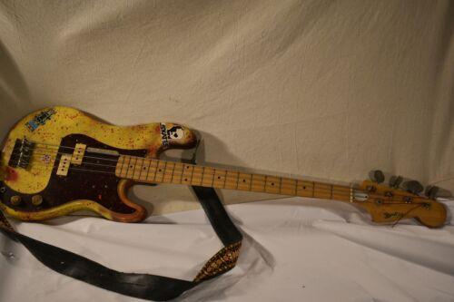 Bradley electric bass guitar 1970