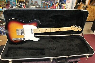 2003 - 2004 Fender Telecaster American Standard USA Electric Guitar Sunburst