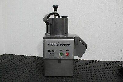Robot Coupe Cl50 Ultra Series E Vegetable Slicer Food Processor