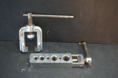 Hi-Duty Flaring Tool 300-F Imperial Brass Chicago 45 Degree Tube Pipe Vintage