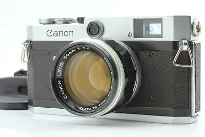 [Near Mint] Canon P Rangefinder Camera + 50mm f/1.4 Lens From Japan