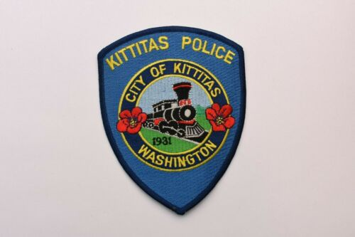 Kittitas Washington Collectible Police Shoulder Patch