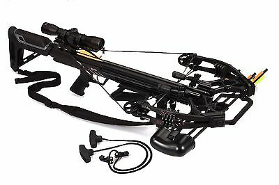 Bruin Ambush 410 Crossbow Package w/ Scope, Bolts, Quiver and Cocking Rope