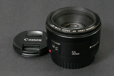 Canon EF 2514A011AA 50mm f/1.8 II EF Lens, Clean & Sharp, Free Shipping US