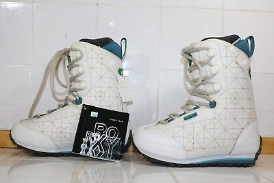Roxy Womens Track Lace Snowboard Boots Various Sizes White Blue Green 5, - Lace Womens Snowboard Boots