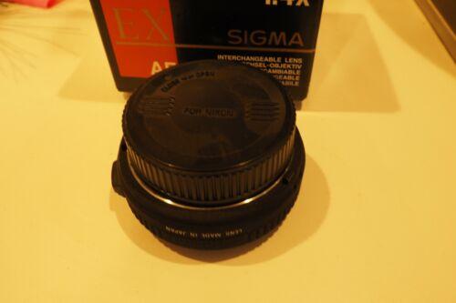 Sigma Nikon MT APO Tele Converter 1.4X for Nikon AF D Lens