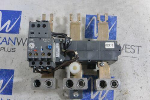 ABB 3 Phase Overload Relay E500DU  Electronic 150-500 amp range 600V