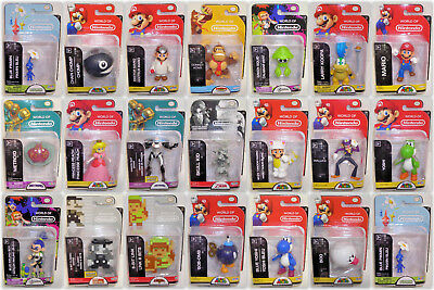 World Of Nintendo 2 5 Inch Action Figures Sealed   Your Choice   Jakks Pacific