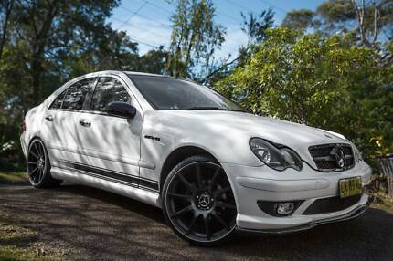 Mercedes Benz C180K Supercharger AMG body kit West Pymble Ku-ring-gai Area Preview
