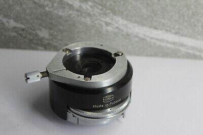 Pzo Microscope Rotating Ks Stereo Analyzer Pol Filter Insert Tube Part