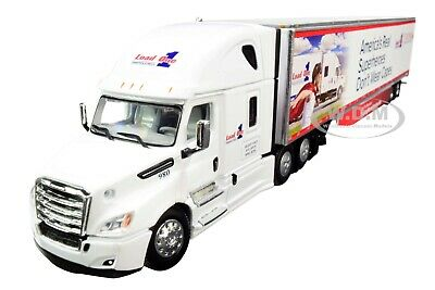 2018 FREIGHTLINER CASCADIA 53' TRAILER LOAD ONE LLC 1/64 DCP/FIRST GEAR 60-0587